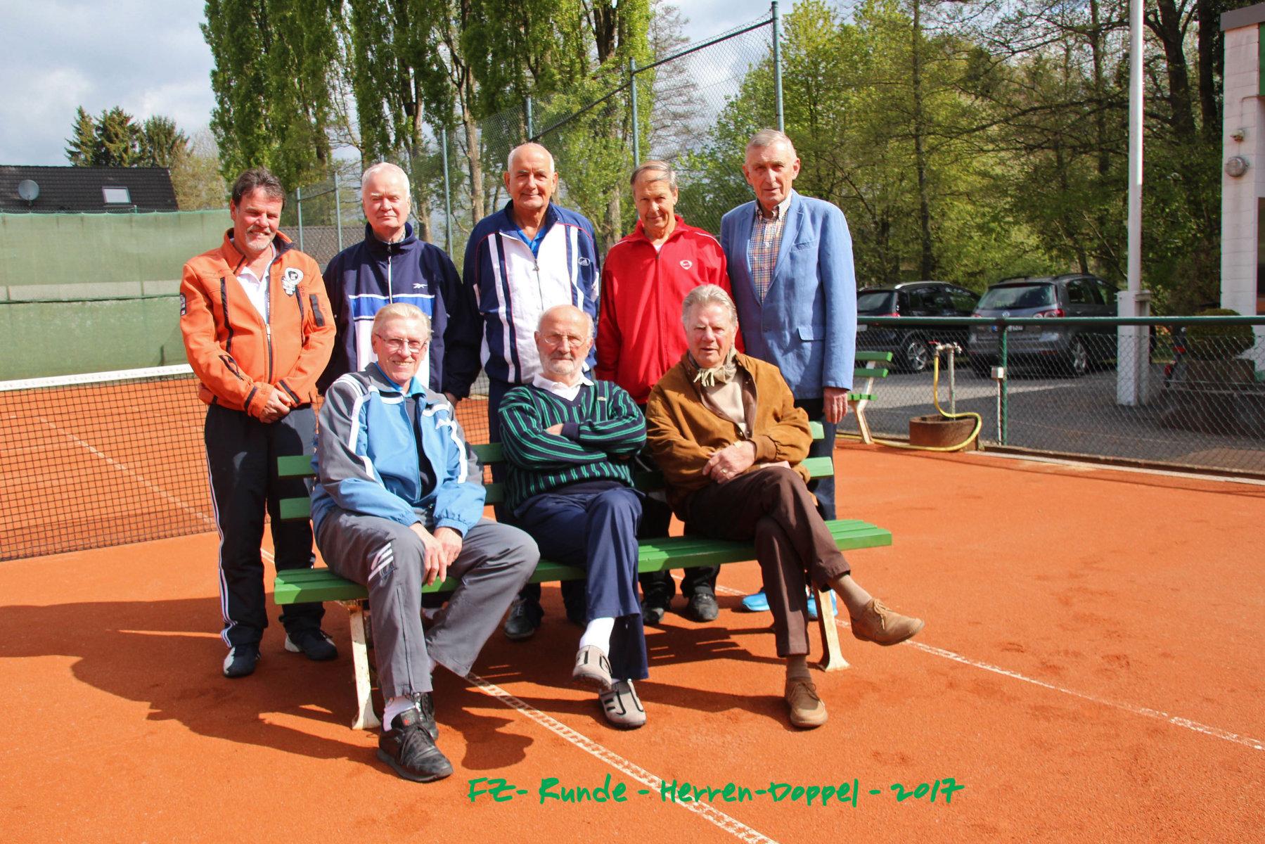 Freizeitrunden Mannschaft TC GW Hennef