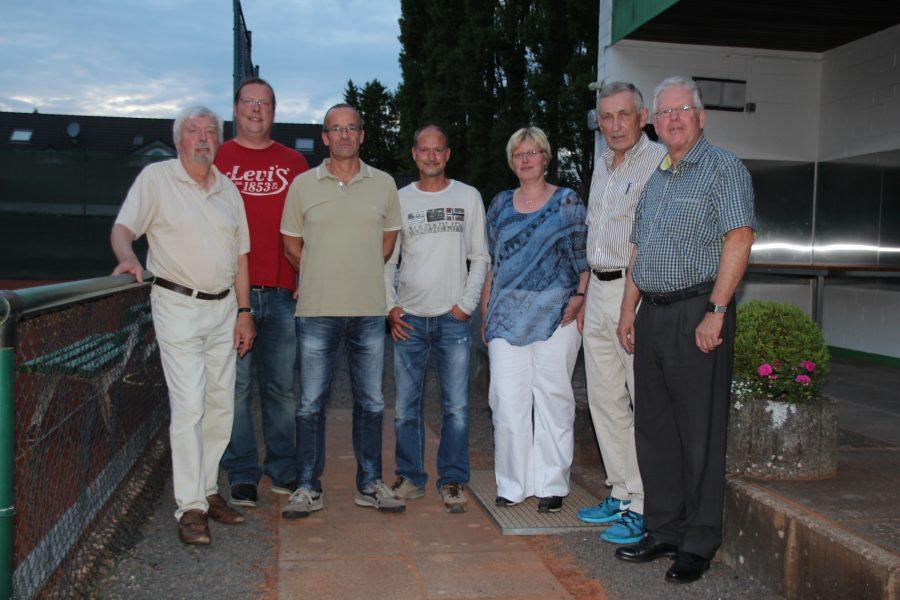 Bild Vorstand TC GW Hennef