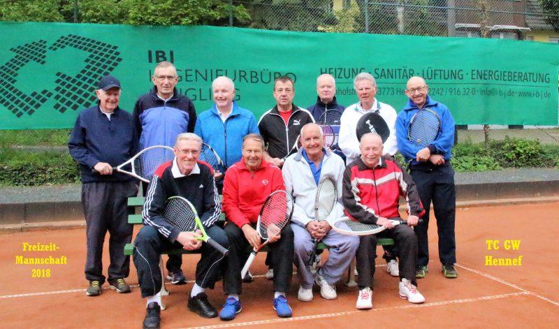 Freizeitrunden-Mannschaft TC GW Hennef